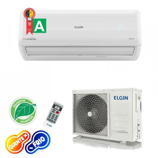 Ar Condicionado Tecnologia Inverter Elgin Quente e Frio 18.000 Btus